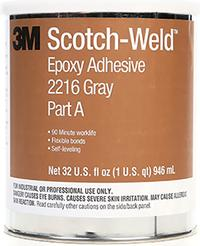 1qt 3M™ Scotch-Weld™ Epoxy Adhesive 2216