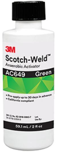 2oz Bottle 3M™ Scotch-Weld™ Anaerobic Activator AC649