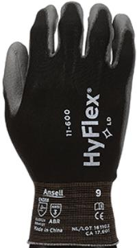 HyFlex® 11-600 2XLarge/11 General Purpose Polyurethane Coated Gloves