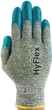 HyFlex® 11-501 Large/9 Cut Resistant Nitrile Foam Coated Gloves