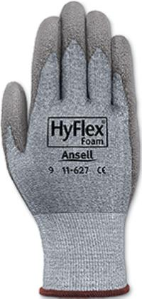 HyFlex® 11-627 Medium/8 Cut Resistant Polyurethane Gloves