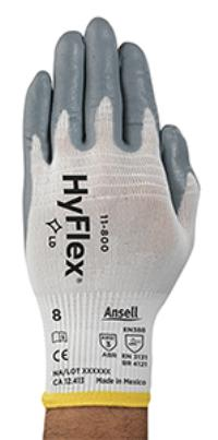 XLarge/10 General Purpose Nitrile Foam Coated HyFlex Foam Gloves