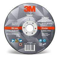 9IN × 1/4IN × 7/8IN  3M™ Silver Depressed Center Grinding Wheels