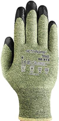 Small/7 Foam Coated Flame Resistant, Arc and Cut Protection Gloves