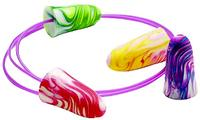 SparkPlugs Multicolors 33dB Disposable Foam Earplugs