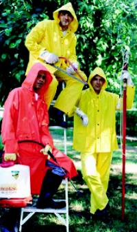 Classic 5XLarge (62-64) PVC/Polyester Rain Suits