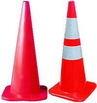FL Series 28IN  Plain Traffic Cones
