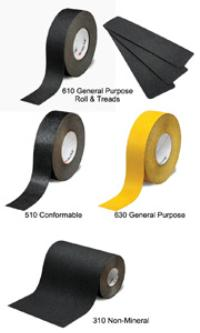 4IN x60' 3M™ Safety-Walk™ Slip-Resistant General Purpose Tapes and Treads 600 Series