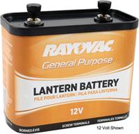 6V Screw Top Lantern Battery