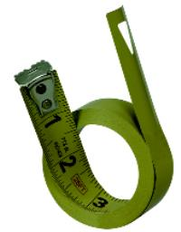 1IN  x 30' Replacement Tape Measure Blade