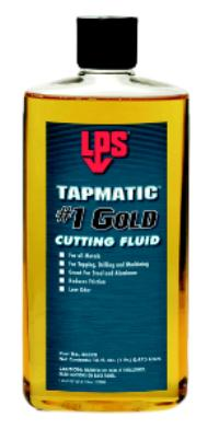 16oz Bottle Tapmatic #1 Gold Cutting Fluid