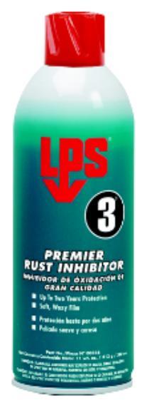 11oz Aerosol Net Wt. LPS 3 Premier Rust Inhibitor