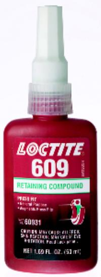 Green 609 Retaining Compound