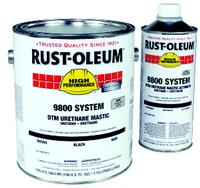 9800 System 340 g/l VOC Navy Gray Polyurethane Paints