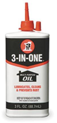 3oz 3-IN-ONE Multi-Purpose Oil
