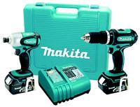 18V LXT Lithium-Ion Cordless 2 Tool Compact Combo Kit
