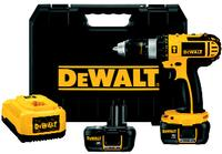 18V Cordless Compact Lithium-Ion Hammer Drill Kit