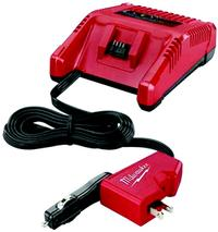 M18 18V AC/DC Wall and Vehicle Battery Charger