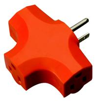 3 Outlet Extension Cord Adapters