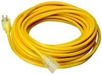 25' Indoor/Outdoor Extension Cords
