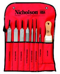 8 Piece Machinist File Set