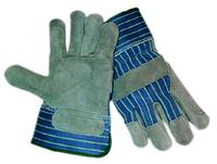 Silver Series Large/9 Cowhide Leather Palm Gloves
