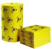 BrightSorb® 15IN x19IN  High Visibility Chemical Absorbent Pads & Rolls