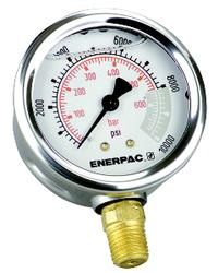 G-Series 0-10,000 (0-700) Glycerine Filled Hydraulic Pressure Gauges