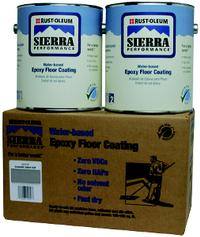 Kit Includes: 208072, 208086 Sierra S40 Concrete Floor Coating