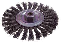 4 7/8IN x 5/8-11 Knot Wire Wheel Brush
