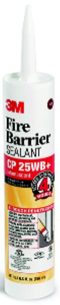 10.1 oz. Cartridge 3M™ Fire Barrier Sealant CP 25WB+