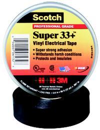 3/4IN x20' 3M™ Scotch® Super Vinyl Electrical Tape 33+