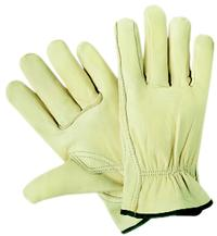 Small/7 Premium Grain Cowhide Leather Drivers Gloves