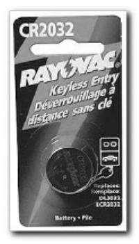 2032 Lithium Keyless Entry Batteries