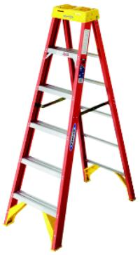 6200 Series 4' Fiberglass Step Ladders