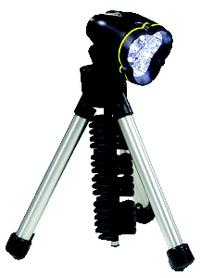 3 AA LED Tripod Flashlight