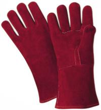 Large/9 Premium Side Split Cowhide Leather Welder Gloves