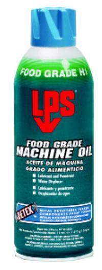 DETEX 11oz Aerosol Net Wt. Food Grade Machine Oil