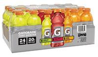 Lemon-lime, Fruit Punch & Orange Electrolyte Drinks
