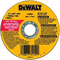 7IN x.045x 7/8IN  Metal Cutting Abrasive Wheels
