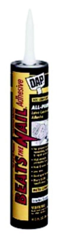 Beats the Nail White VOC-Compliant Construction Adhesive