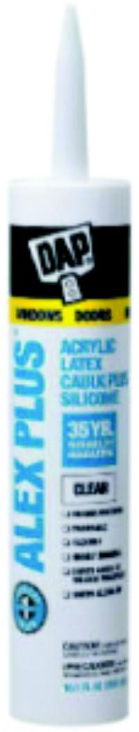 Clear Alex Plus Acrylic Latex Caulk