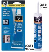 White 100% Silicone Rubber Sealant