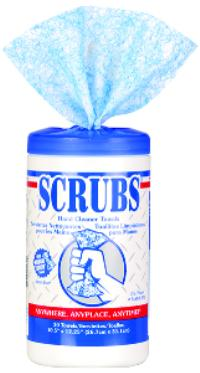10IN x12IN  Scrubs Hand Cleaner Towels