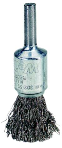 1IN  Crimped Wire End Brushes