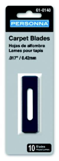 .017IN  Carpet & Slitter Knife Blades