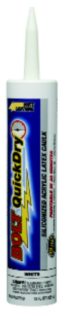 White Bolt Quick Dry Adhesive Caulk