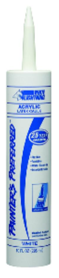 White Acrylic Latex Caulk