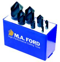 7 Piece Single Flute General Purpose Countersink Set