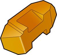 GC1125 60° V-Profile Carbide Threading Inserts-External & Internal
